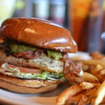 outback chicken burger